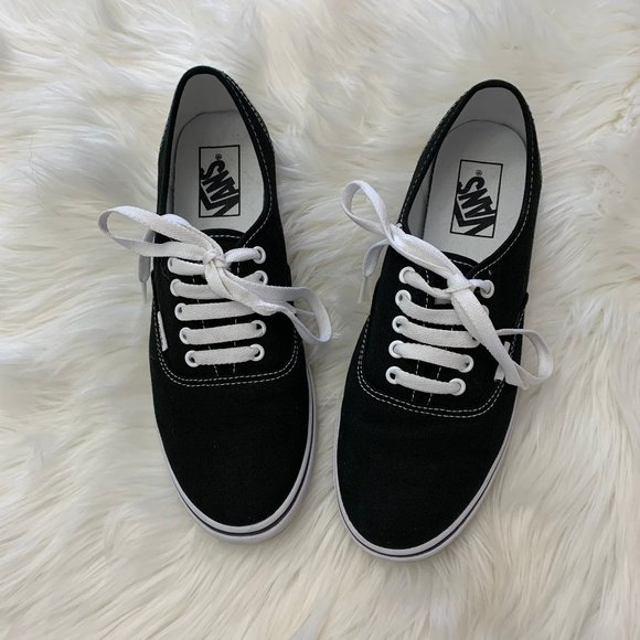 Vans | Authentic Lo Pro Canvas Skate Shoes Black